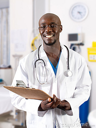 Free African Doctor Stock Images - 14738904