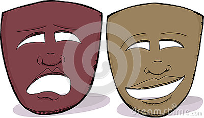 African Drama Masks