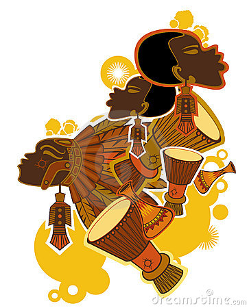 Free African Drummer Royalty Free Stock Image - 9741146