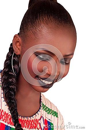 African fashion beauty. Fulani