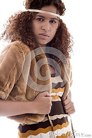 African fashion portrait