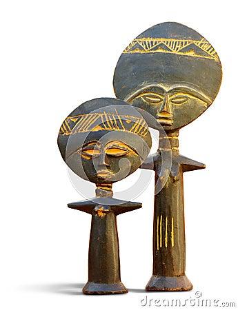 African Fertility Symbol Royalty Free Stock Image Image