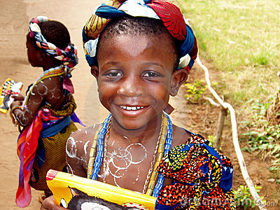 African girl - Ghana Editorial Photo