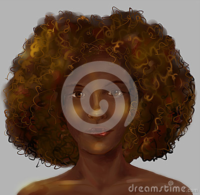 Free African Girl S Portrait Royalty Free Stock Photography - 44006367