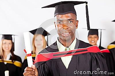 African graduate graduation