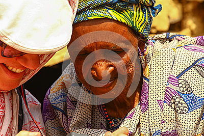Senior African Woman Granny