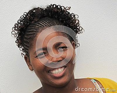 African hairdo