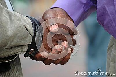 African handshake