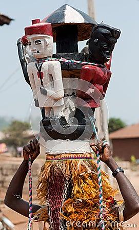 AFRICAN HELMET MASQUERADE