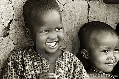 African kids Editorial Photo