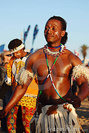 African male dancer, IMSA 2011 Editorial Photo