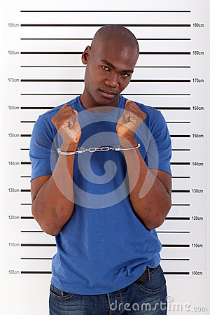African man arrested