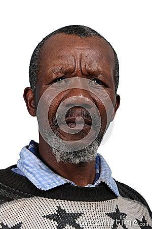 African Man Painter