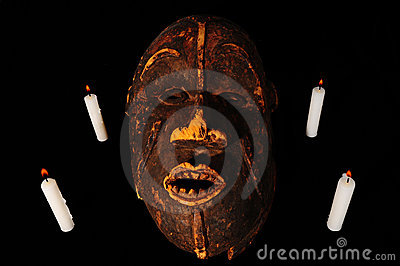 African Mask Royalty Free Stock Photography - Image: 13301287