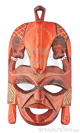 Free African Mask Royalty Free Stock Photography - 18157057