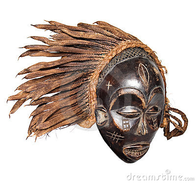 Free African Mask Stock Photography - 5392722