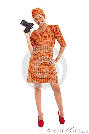 African model camera