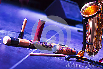 African musical instruments jazz of the scene