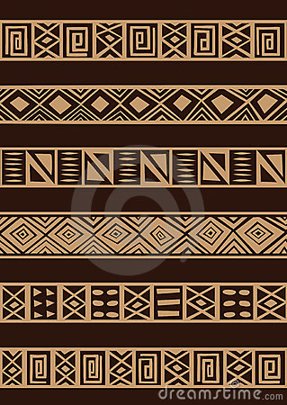 Free African Ornament Royalty Free Stock Images - 8047629
