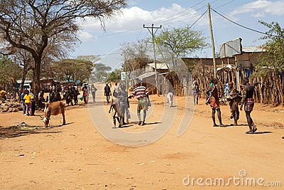 African people Editorial Stock Photo
