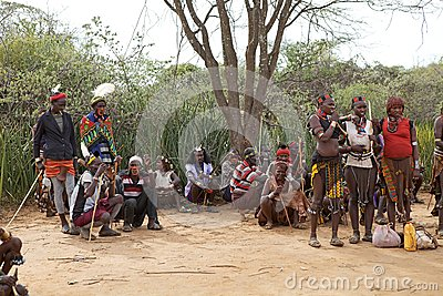 African people Editorial Stock Image