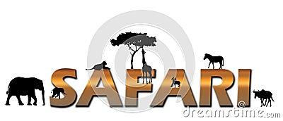 African Safari logo