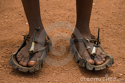 African Sandals Indestructible And Sustainable Royalty