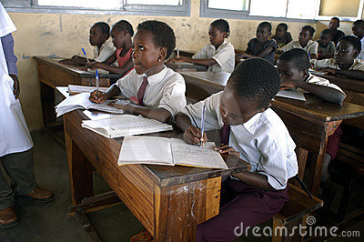 African school Editorial Image