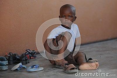 African School children Editorial Stock Photo