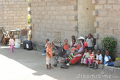 African School children Editorial Photography