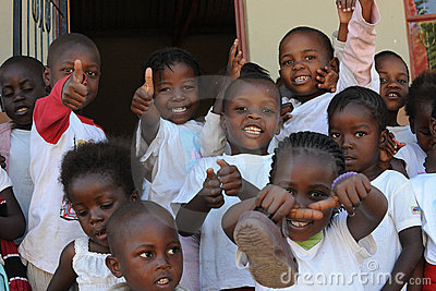 African School children Editorial Image