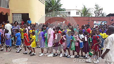 African school children Editorial Photo