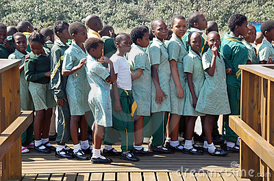 African schoolchildren Editorial Photography