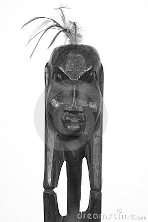 Free African Sculpture Royalty Free Stock Photos - 3969968
