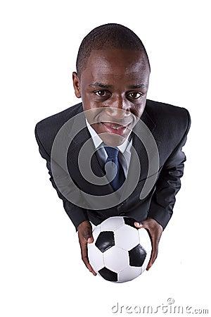 African soccer fan