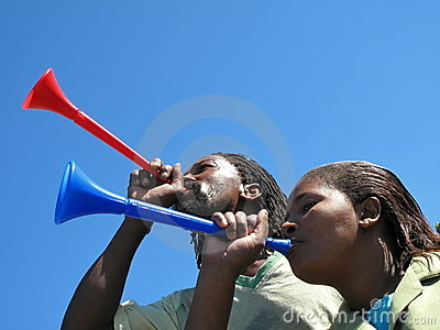 Image result for  black girl holding vuvuzela image