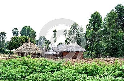 African soil house