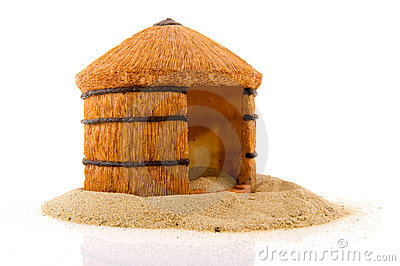 African Straw Hut Royalty Free Stock Images - Image: 16443329