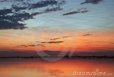 African Sunset - Botswana