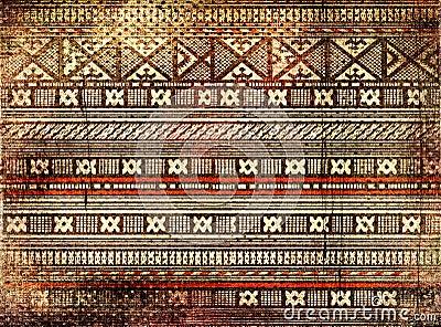 Aztec Wood Art