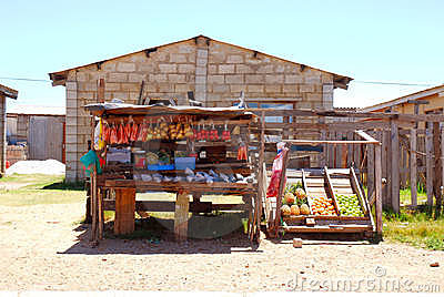 African township shop
