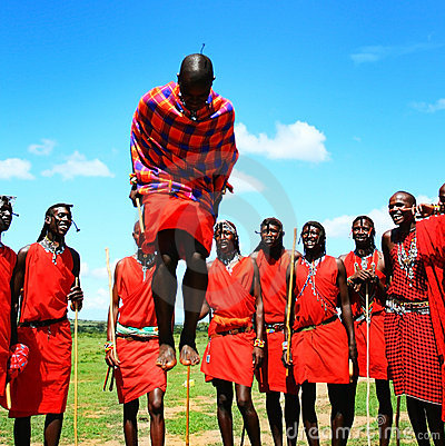 African traditional jumps