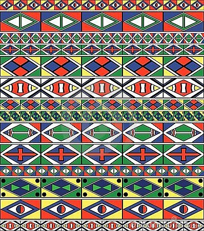 Free African-tribal-art Pattern S Frame Stock Photos - 14303383