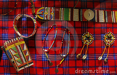 African tribal handicrafts