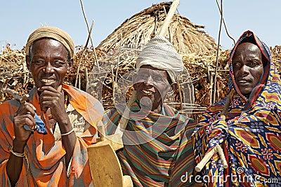 African tribal men Editorial Photo