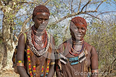 African tribal women Editorial Photography