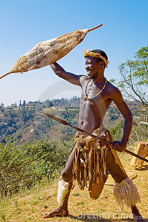 Free African Warrior Royalty Free Stock Image - 6035586