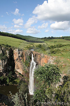 African Waterfall