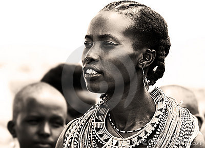 African woman Editorial Stock Photo