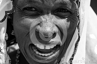 African Arab Woman Editorial Stock Image
